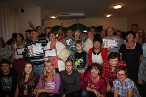 Foto č. 7: Slávnostné vyhodnotenie, ktoré nasledovalo po odovzdaní diplomov a cien víťazom, foto: Laco Lesay