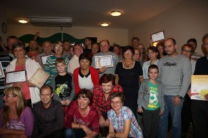 Foto č. 6: Slávnostné vyhodnotenie, ktoré nasledovalo po odovzdaní diplomov a cien víťazom, foto: Laco Lesay